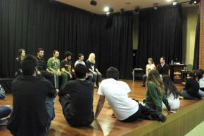 Spolin Workshop at Maltepe University 2010