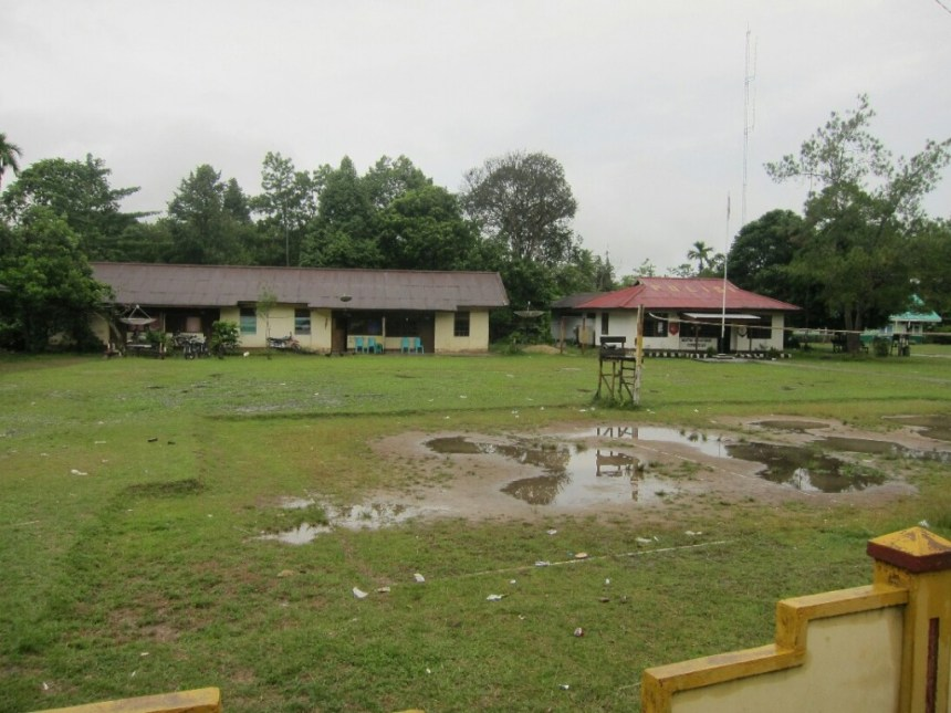 The Serawai police station