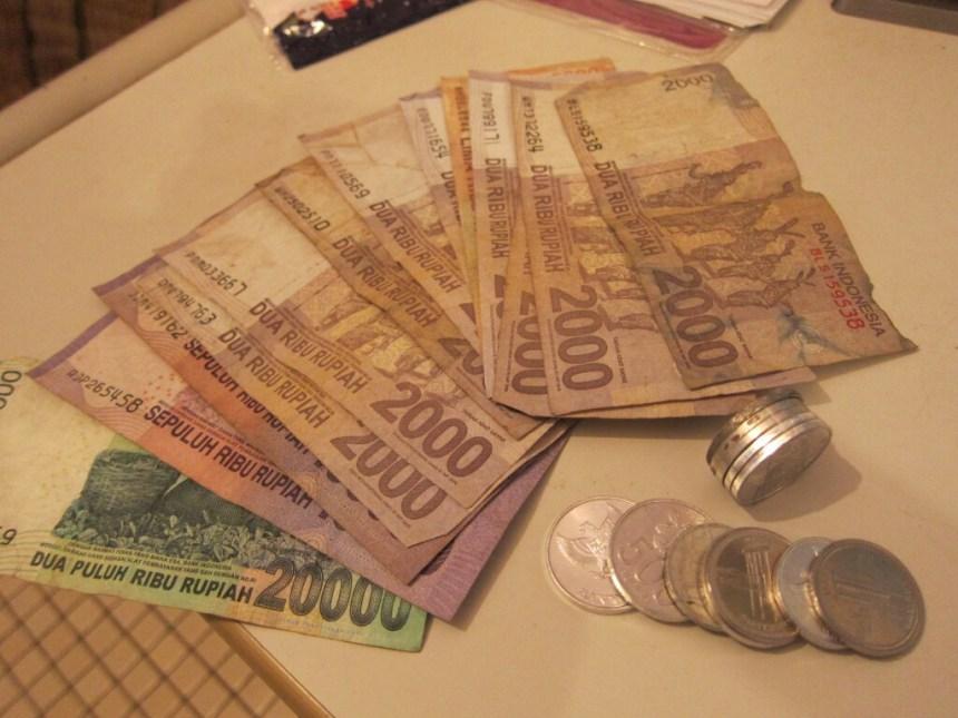 Indonesian cash money