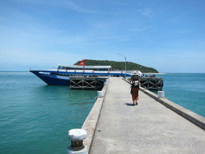 Leaving Ko Pha ngan