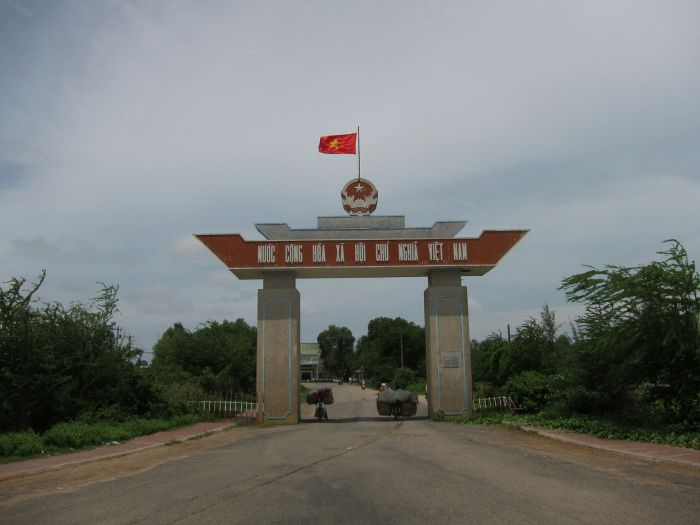 Entering Vietnam