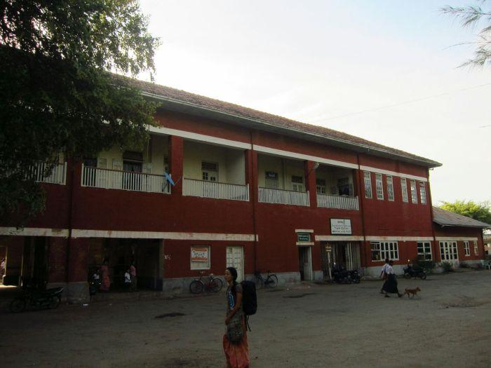 Thazi station
