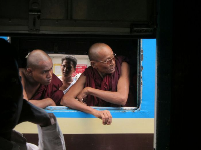Cool monks