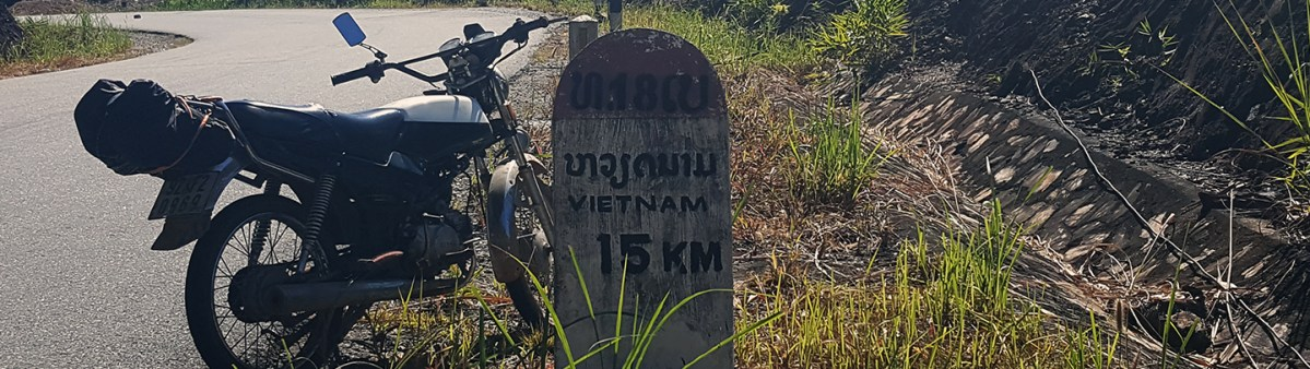 Crossing the Bo Y Border - Attapeu to Kon Tum