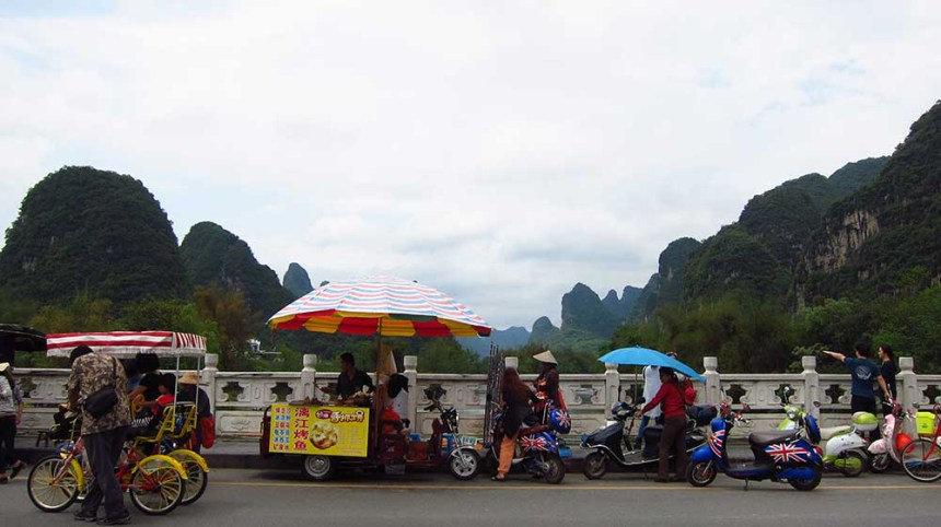 Nanning to Yangshuo by bicycle