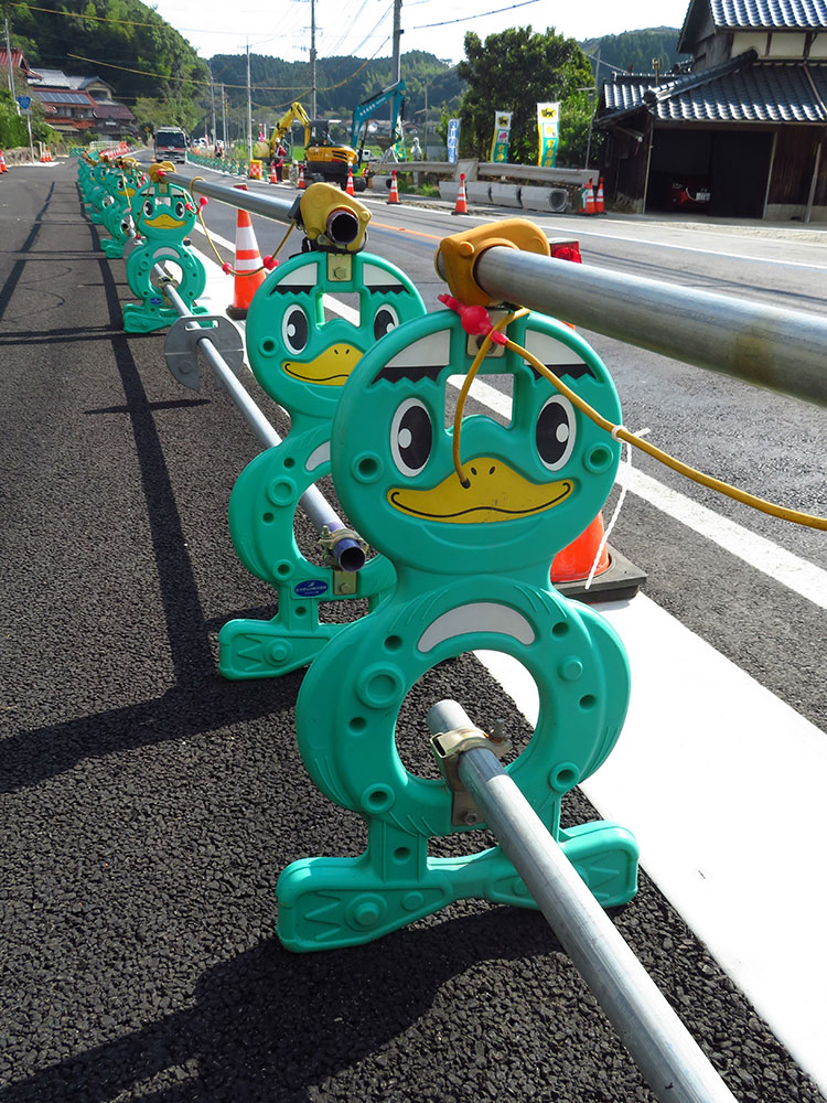 The roadworks in Japan are, well, adorable.