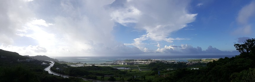 Okinawa east coast