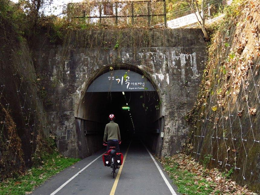 cycling busan to seoul