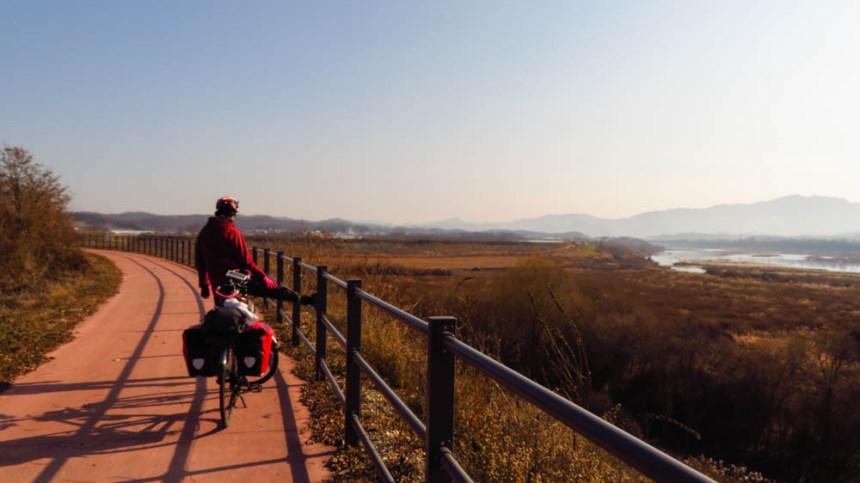 Cycling DMZ Korea
