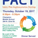 PACT Area – Safety Plan meeting Oct. 19th