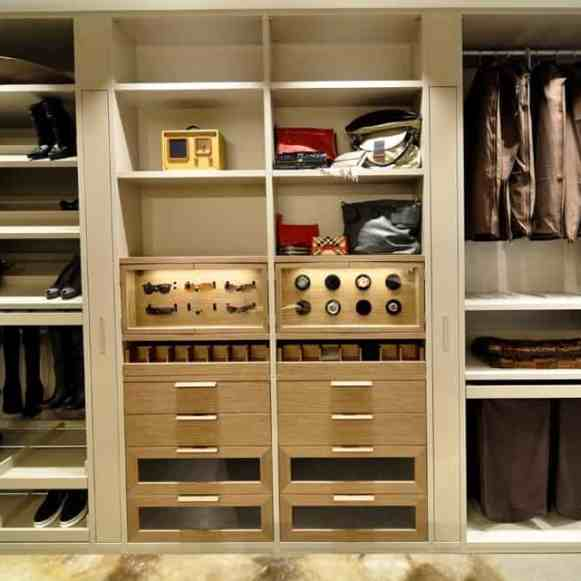 schmalenbach luxury wardrobe is packed with functional storage