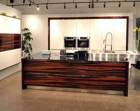 makassar high gloss kitchen cabinetry in eggersmann florida german kitchen showroom