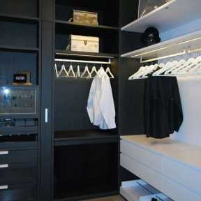 schmalenbach high-end closet display at studio Toronto