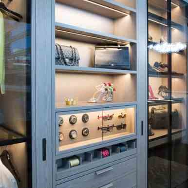 high-end schmalenbach custom-designed closet