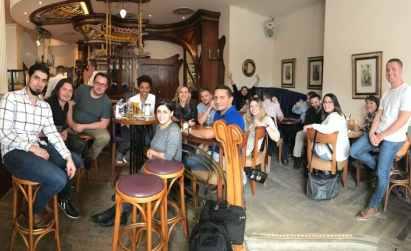 attendees of 2017 eggersmann german kitchen cabinet factory tour
