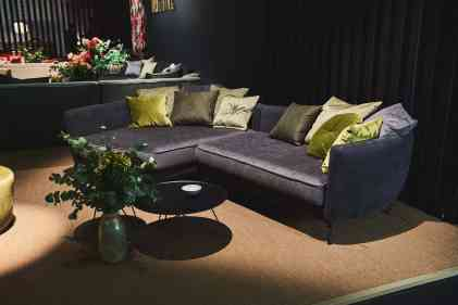 sophisticated living front side sofa