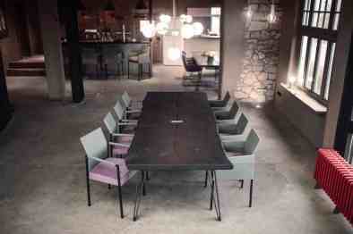 eggersmann nightengale table with texas chairs