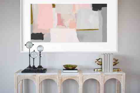 victoria hardy interior-design vignette featured in the eggersmann showroom during the chicago rndd gallery walk 2019