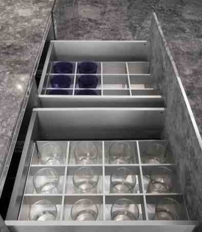 eggersman boxtec drawer organization for barware