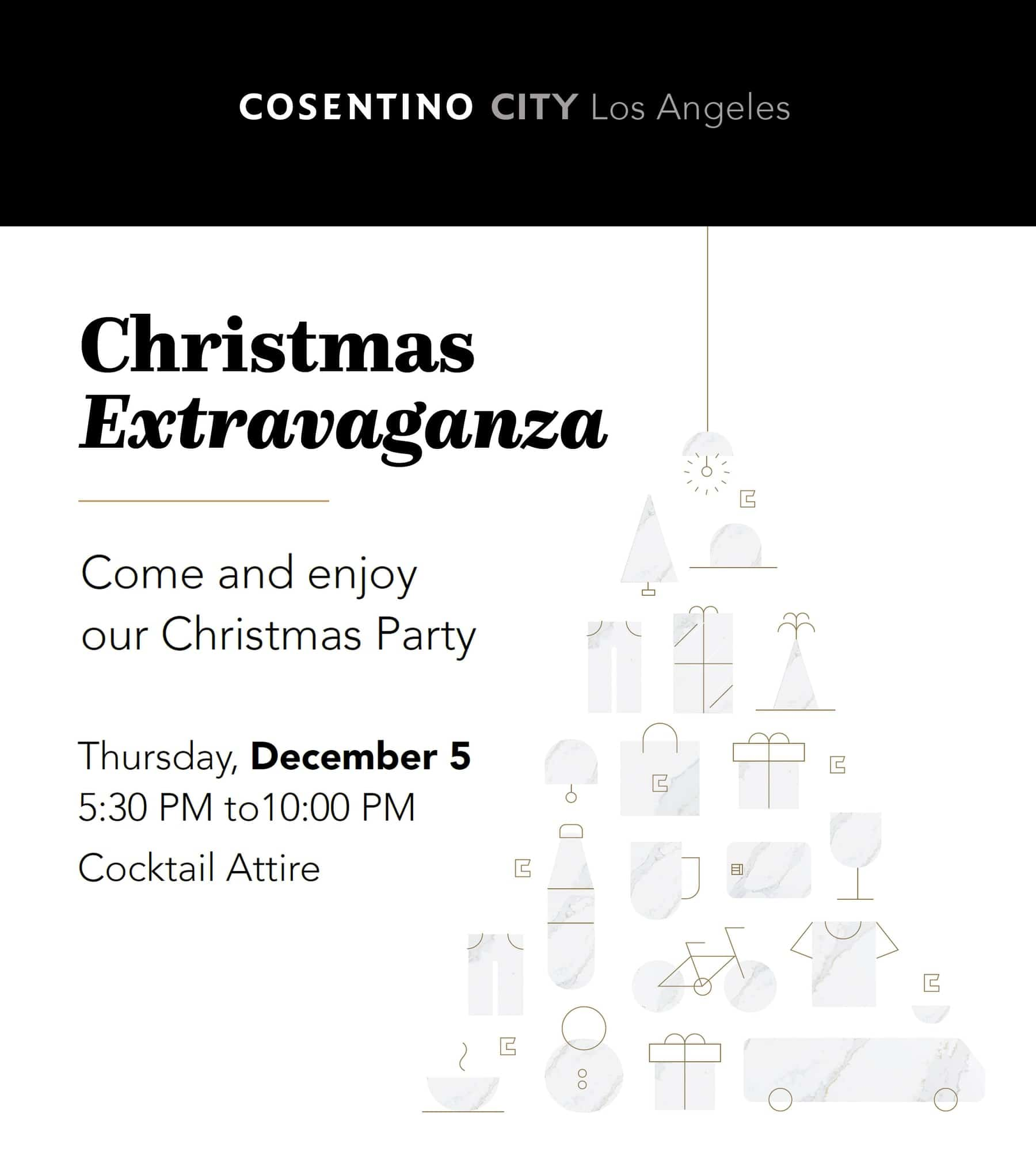 consentinos holiday party and toy drive information for los angeles