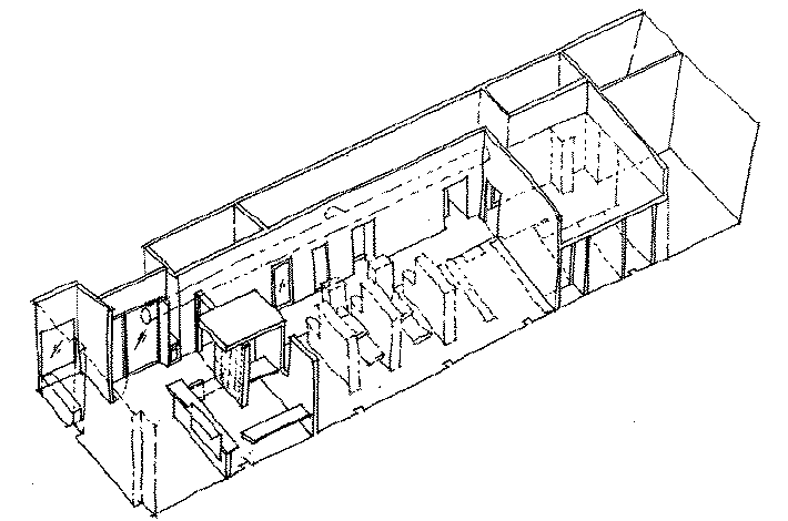 axonometric drawing