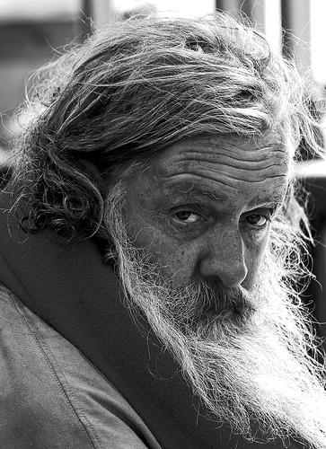 Old Man Santa Beard