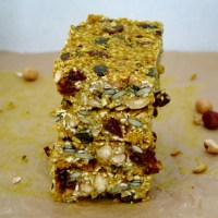 Turmeric Ginger Seed + Nut Bars