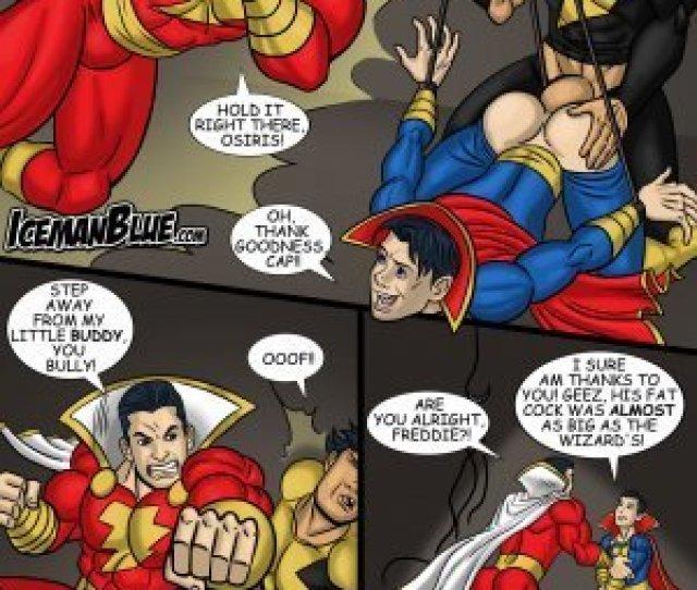 Captain Marvel Jr Yaoi Porn Comics Eggporncomics