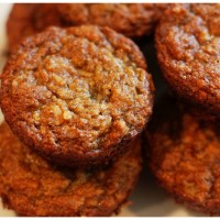 Gluten Free Banana Muffins with Almond Meal & Coconut