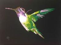 TBT: Hummingbird by premier painter George Gospodinov