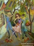 TBT: Dancing With Peaches by Premier painter Matiko Mamaladze