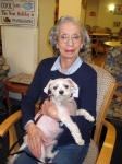 Older adults can maintain their independence with the help of a pet