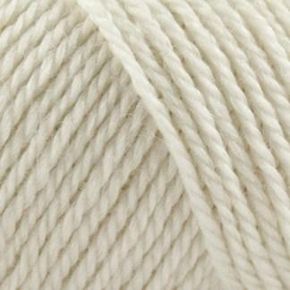 No. 4 Organic Wool + Nettles - råhvid