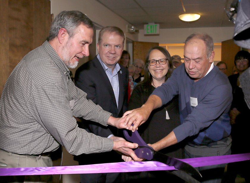 Ribbon Cutting for Completed EGH Day Center Remodel