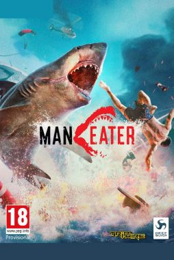 Maneater PC 2D Packshot-2