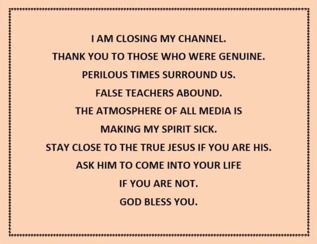 Jeremiah Weeps - last words