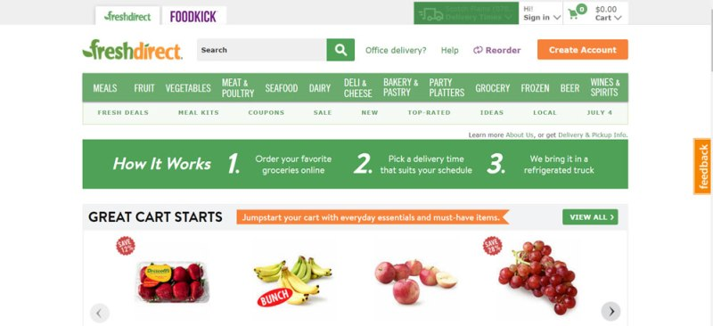 11 Reliable Online Grocery Shopping Stores to Get your Daily