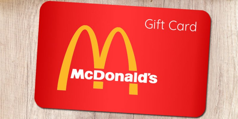 Image result for mcdonalds gift card images