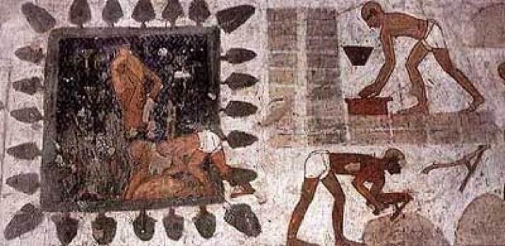 Resultado de imagen para mastaba de adobe