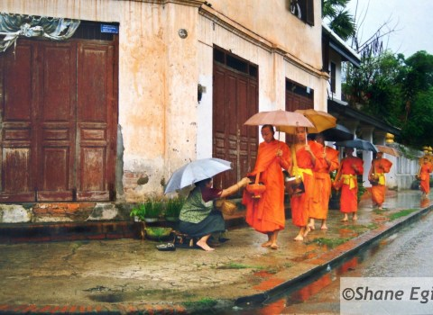 Monks' Feeding Time