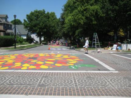 combines with municipal crosswalk