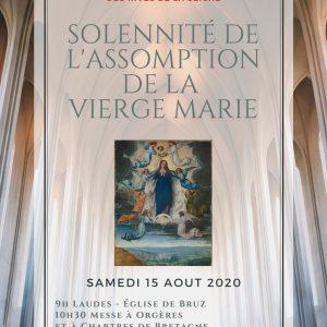 Solennité de l'Assomption 2020