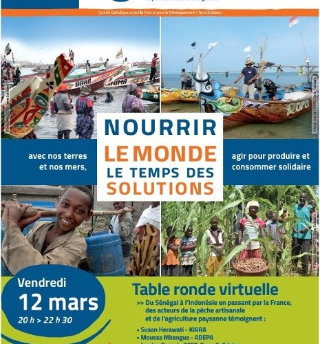 CCFD-Terre Solidaire : table ronde virtuelle