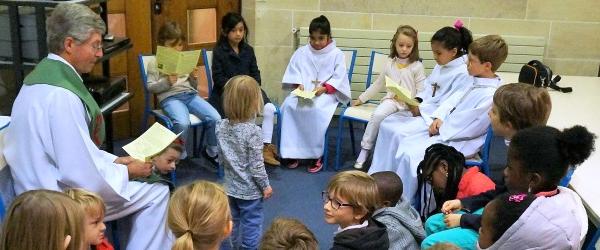 Liturgie de la Parole à Saint-Pierre de Chaillot