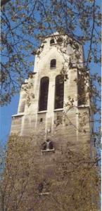 clocher de l'église Saint-Pierre de Chaillot