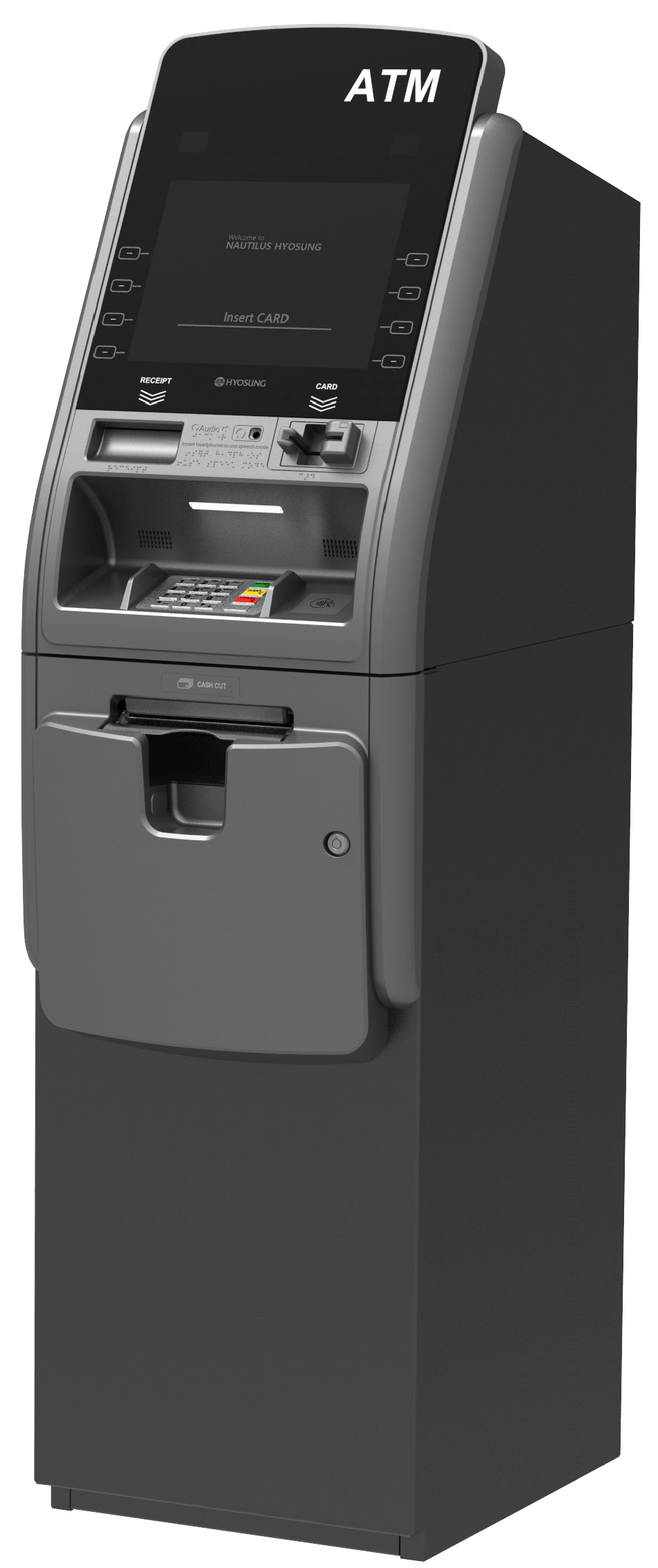 Turnkey ATM Managed Services with Hyosung Force Retail ATM Terminal