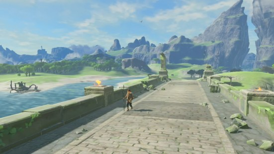 Image result for zelda botw screenshots mountains