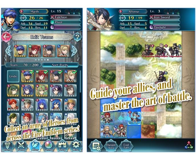 Resultat d'imatges de fire emblem heroes