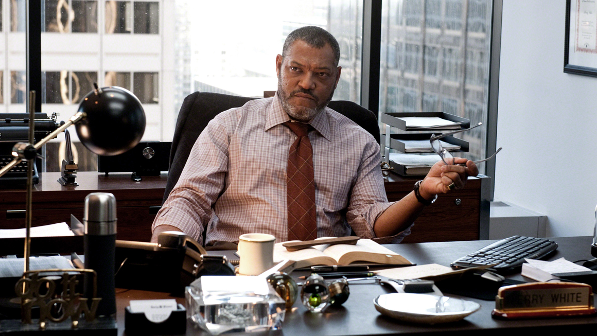 Laurence Fishburne Talks DC Movies