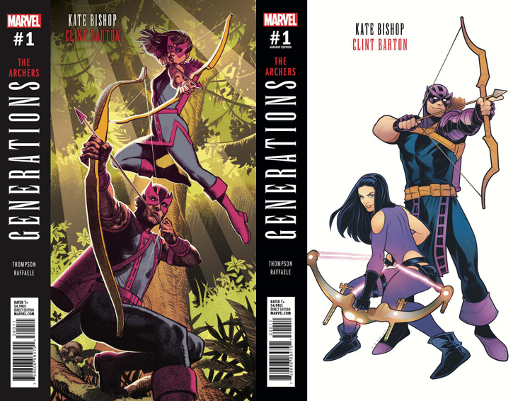 Image result for generations hawkeye #1